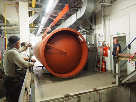 Instalace akumulační nádrže