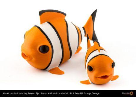 Nová 3D struna – PLA Extrafill Orange Orange