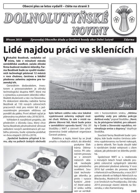 Nový produkční skleník vyroste na Ostravsku