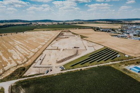 Nový skleník vyroste u Kožichovic