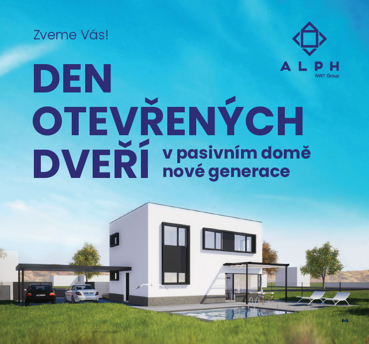 Náš první pasivní dům na Kudlově ve Zlíně vás zve na návštěvu