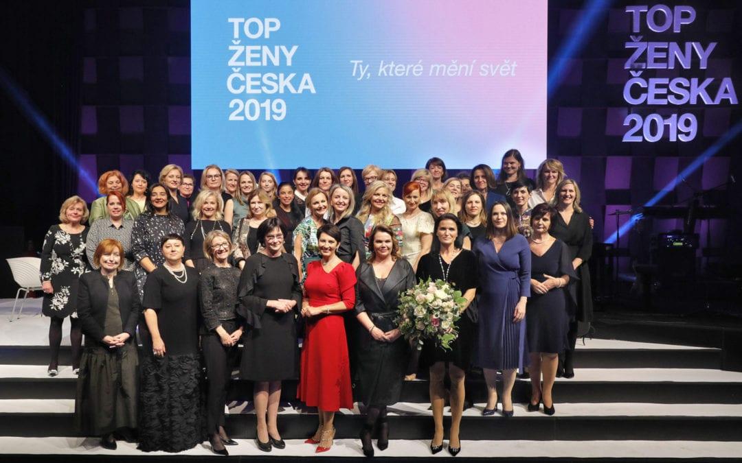Martina Vítková jako TOP ŽENA ČESKA 2019