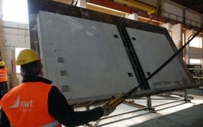 Vyrábíme vlastní prefabrikované betonové panely pro pasivní domy