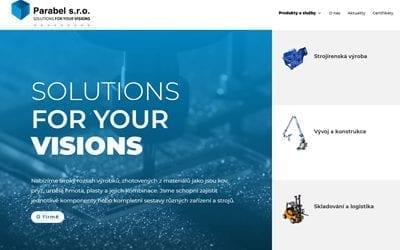 Nové webovky pro Parabel